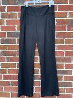 Cabi Trousers Black Dress Pants High Rise Stretch Womens Size 10 Medium Pants