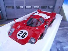 Ferrari 512s 512 s #28 racing 24h Daytona 1970 andretti Merzario CMR resin 1:18
