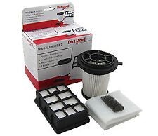 Dirt Devil Set Ausblasfilter Zentralfilter 3884001 Magnum MPR MPR2 M3884 M 3884