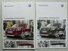 Prospekt VW - Leichtmetallfelgen und Stylingzubehör, 5.2009, 72 S. + Preisliste
