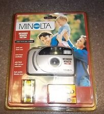 Minolta Memory Maker 2000 35mm Focus, New in Package Film and Batteries Included