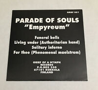 Parade Of Souls Empyreum Ep 90s Black Metal, Doom Metal, Death Metal