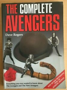 The Complete AVENGERS TV Series Companion Guide Book 1992 Dave Rogers 286 pages