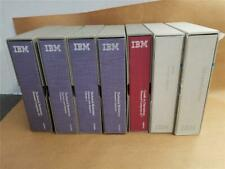 LOT IBM TECHNICAL REFERENCES, DOS REFERENCES & OTHER COMPUTER SYSTEM - 11 books