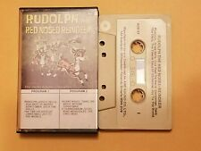 Rudolph The Red Nosed Reindeer Cassette Tape Album Christmas