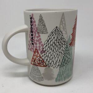 Starbucks Holiday Christmas Tree  Coffee Mug 2017 Edition 12 oz