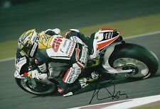 Toni Elias mano firmado LCR Honda 12x8 Foto MotoGP 7.