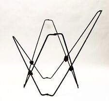 Vintage Folding Butterfly Black Chair Frame Only Mid-Century Modern