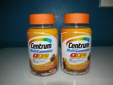 Centrum Adult Vitamin D B A E Multi Gummies LOT 2X70=140 Supplement Berry 4/20