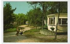 KELLING HEATH CARAVAN & CAMPING SITE, WEYBOURNE: Norfolk postcard (C42296)