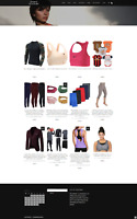 SPORTS CLOTHING WEBSITE - FULLY STOCKED - ECOMMERCE BUSINESS - NEW DOMAIN