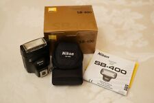 Nikon Sb-400 Speedlight - lightly used - for Nikon Dslrs