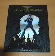 JOHNNY HALLYDAY TOUR 66 2009 PROGRAMME OFFICIEL ORIGINAL