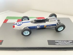 F1 Car Collection Ferrari 512 F1  -1964 Lorenzo Bandini - 1/43 Scale -Superb