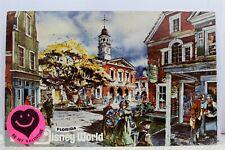 Walt Disney World Magic Kingdom Postcard Old Vintage Card View Standard Souvenir