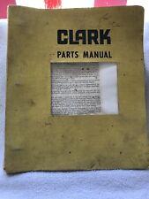 Clark Parts Manual-PM 3228-1978