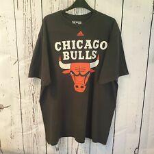 Vintage Chicago Bulls T Shirt ADIDAS Official USA Baseball CUBS XL US BASKETBALL