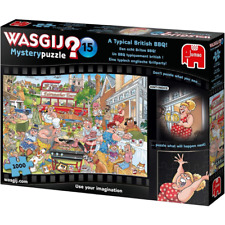 Wasgij 1000 Piece Jigsaw Mystery 15 A Typical British BBQ Puzzle