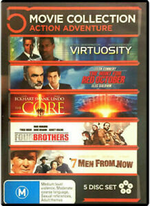 Virtuosity/ Hunt For Red October/ Core/ Four Brothers/ 7 Men From Now (DVD)