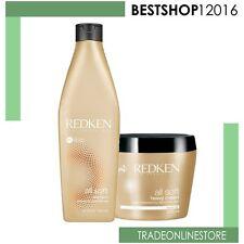 Redken All Soft Shampoo  300 ml e Heavy Cream Mask 250 ml   Capelli secchi