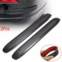 Rubber Protector Scratch Guard Anti-rub  Front/Rear Corner  Car Bumper Strip