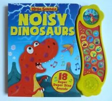 Noisy Dinosaur Sound Books With 18 Super Duper Dino Sounds Ages 0 Months+ Gift
