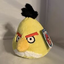 NWT Angry Birds Plush Yellow No Sound 5 Inches