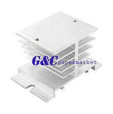 Aluminum Heat Sink for Solid State Relay SSR Heat Dissipation 10A-40A M120