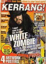 White Zombie on Kerrang Cover 1996     The Wildhearts   Pantera   Soundgarden