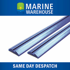 2X Boat Trailer Skid Strips 3M Blue - Pre Grooved Skids 3000mm X 12mm 704698L/2