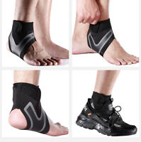 Fitness Ankle Brace Foot Sprain Support Bandage Achilles Strap Guard Protector
