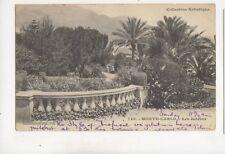 Monte Carlo Les Jardins Monaco U/B Postcard Giletta 439b
