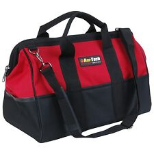 CONTRACTORS MECHANICS TOOL BAG POWER TOOLS BUILDER PLUMBER 22 POCKETS 24x32x45CM