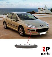 Pour Peugeot 407 2004-2010 Neuf Avant Pare-Choc Chrome Moulure Bord Droit O/S