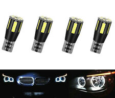 4X For BMW E60 XENON WHITE ANGEL EYE LED CANBUS BULBS 5 series E61 pre LCI Rings