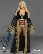 CHARLOTTE FLAIR WWE DIVA SIGNED AUTOGRAPH 8X10 PHOTO #4 PSA/DNA COA