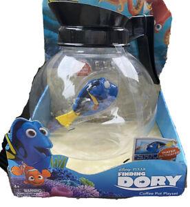 Disney Pixar Finding Dory Robo Fish Coffee Pot Playset New