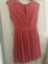 OLIVER BONAS Size 8 Dress, Abstract Watermelon All Over Print