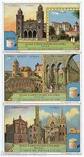 Série complète .LIEBIG.  S1241 JOYAUX D'ARCHITECTURE SICILIENNE (1930) . SICILY