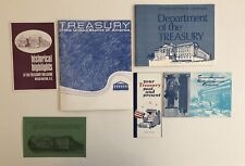 1970's Treasury Of The United States Folder and Brochures