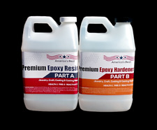 #Crystal Clear Bar Table Top Epoxy Resin Coating For Wood Tabletop -1 Gallon Kit