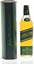 Johnnie walker 15y Green Label 43% - 200ml 0,2l Box - 15 años old-en su embalaje original