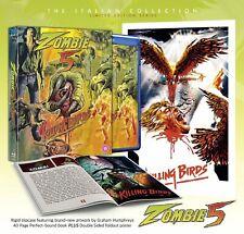 Zombie 5 Killing Birds Deluxe Collectors Edition Five Region B Blu-ray