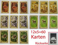 Die Siedler von Catan 60 Karten für das Basis Spiel