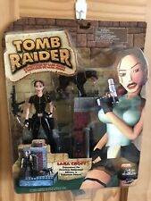 Tomb Raider Lara Croft: Encounters The Ferocious Doberman Figure Set-Playmates