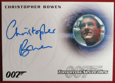 JAMES BOND Tomorrow Never Dies - CHRISTOPHER BOWEN, Richard Day - Autograph A259