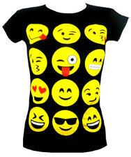 T-shirt noir pour fille de 11 à 12 ans