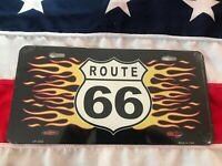 Route 66 Novelty Number Plate,American Licence Car Wall Sign Man Cave Garage