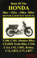 HONDA 250 125 305 50 SHOP MANUAL REPAIR BOOK SERVICE CC