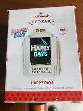 "Hallmark Keepsake Ornament ""Happy Days""  2013 Plays Theme Song"